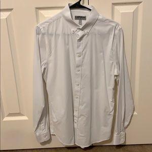 Express men's button down shirt